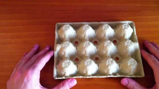 Декоративная посуда из яичного лотка — как утилизировать коробки для яиц
