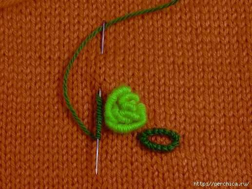 вышивка на вязаном полотне идеисоветы и схемы тут забавно