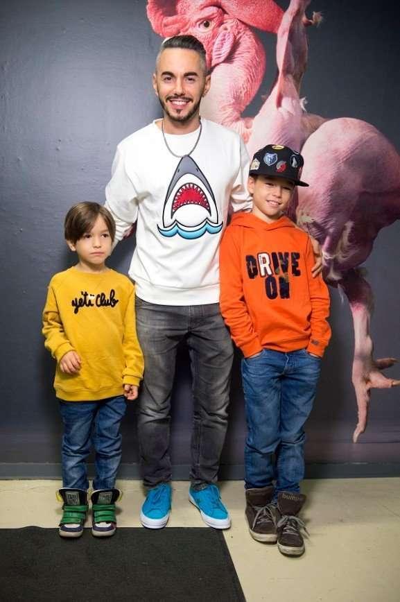 Дети Тимура Родригеза мечтают об игуане