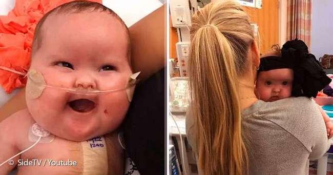 «Я обожаю ее»: мама 7 месяцев любуется своей дочкой, которая могла не выжить из-за 5 проблем со здоровьем