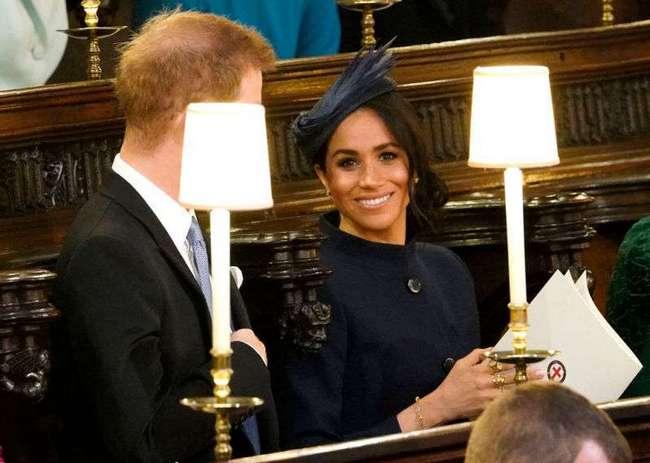 Ого-го, Меган! Стала известна стоимость наряда Маркл на свадьбе у принцессы Евгении