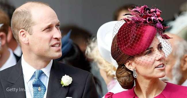Камеры засняли редкий момент нежности между Кейт Миддлтон и принцем Уильямом на свадьбе у принцессы Евгении