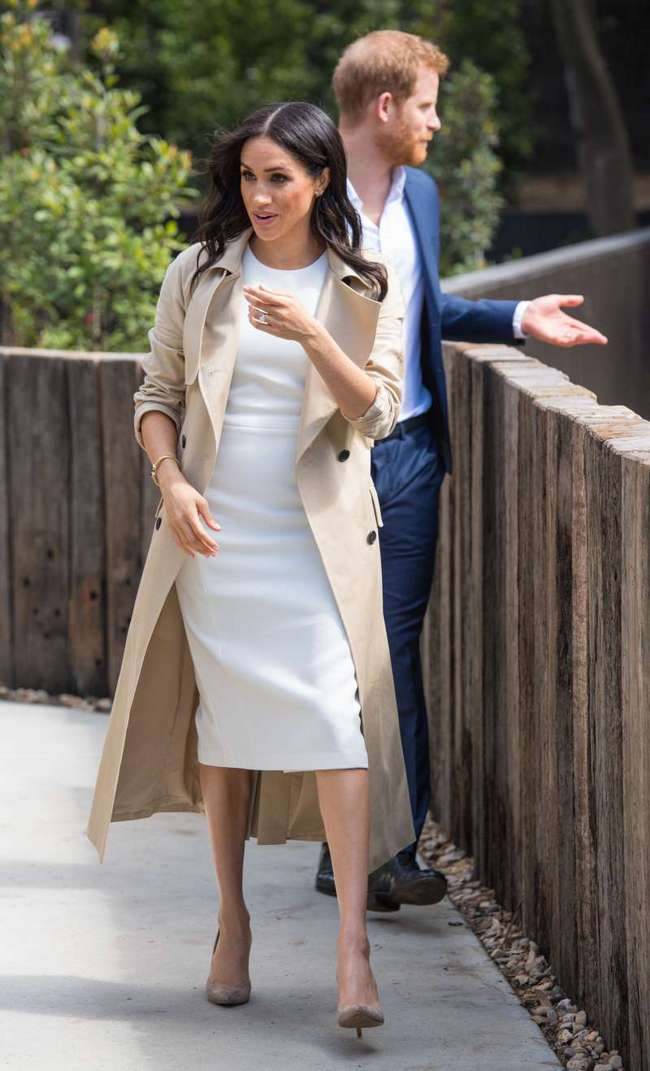 Меган Маркл продемонстрировала публике отличное модное решение на осень