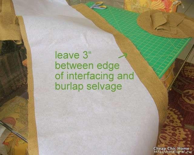 Корзина-короб из мешковины - бюджетно, вместительно и винтажно