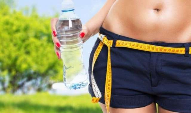 Потеря веса от воды