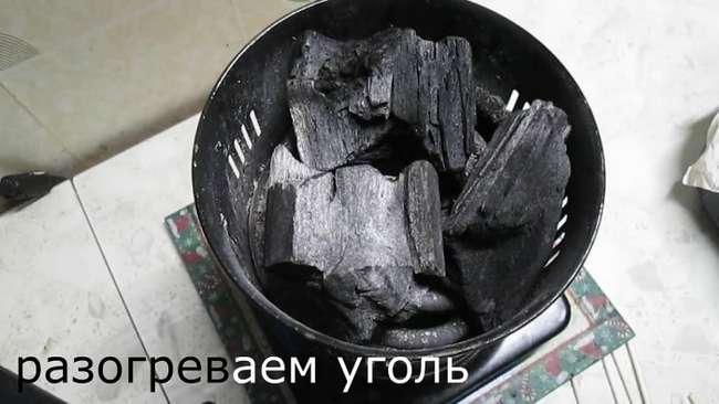 Шашлык в духовке на углях