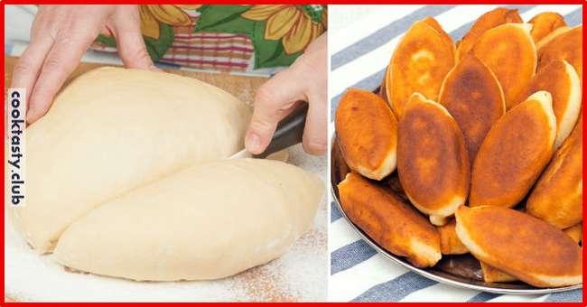 Тесто для пирожков по рецепту мамы