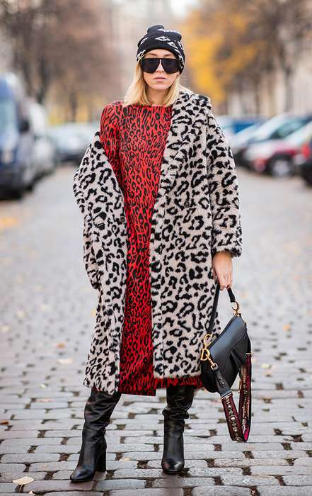 Мороз красоте не помеха: рассказываем, как носить платья в холодную погоду