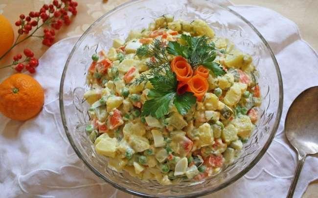 Самые легкие салаты: рецепты, необходимые продукты, фото