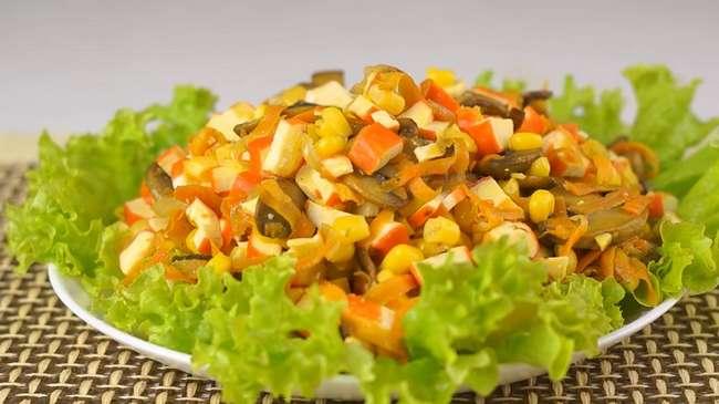 Пять легких салатов без майонеза на каждый день