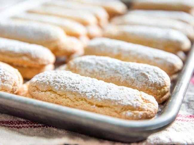 Домашние бисквиты для тирамису