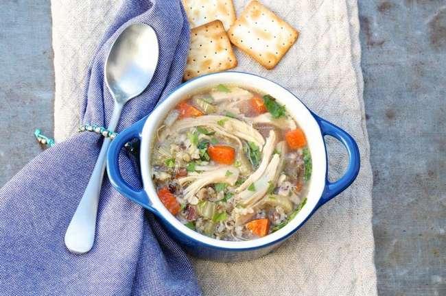 Супы с сельдереем и курицей: простые рецепты