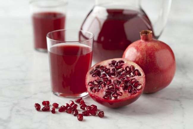 Гранатовый сок: калорийность, польза и вред для организма