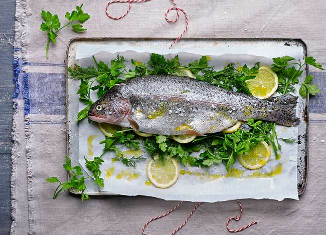 Как запечь филе форели в духовке: рецепты и советы по приготовлению