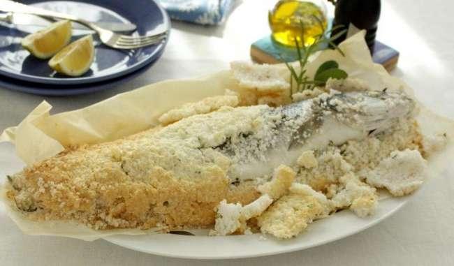 Сибас в соли: особенности приготовления