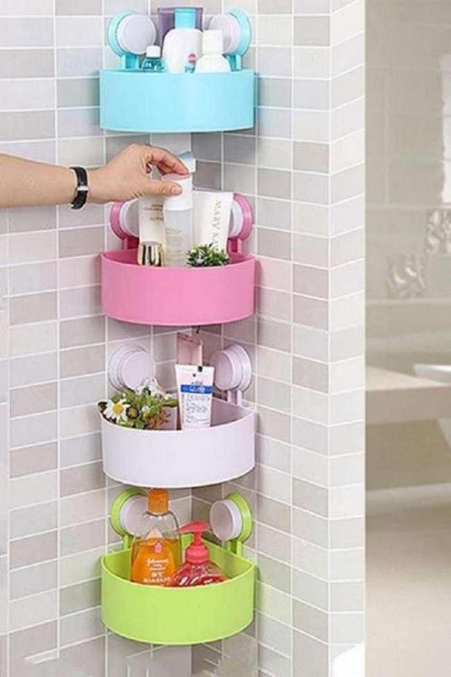 10 гениальных идей по организации пространства для маленькой ванной комнаты