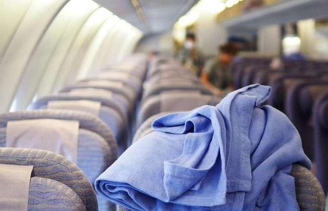 Не рекомендуется брать бесплатное одеяло в полете. Полезные советы туристам