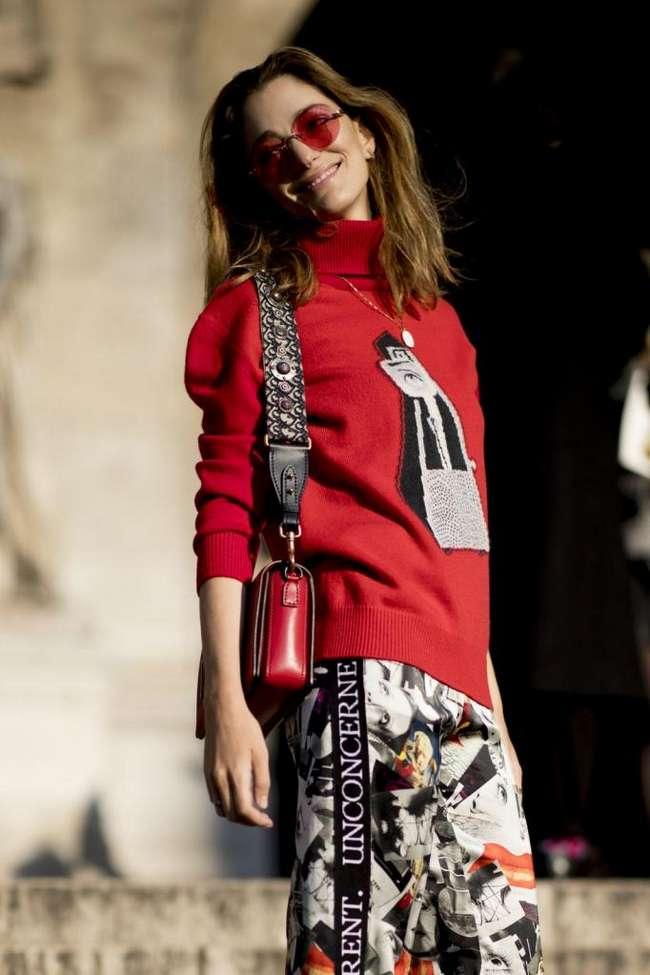 Аксессуары для любителей уличного стиля: фоторепортаж с Парижской недели высокой моды