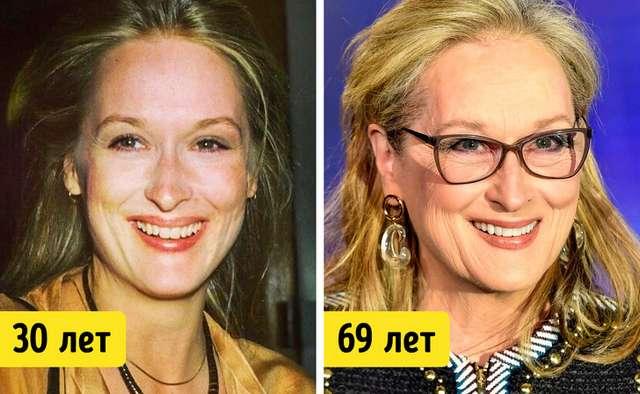 19известных женщин старше 50лет, которые никогда неделали пластику