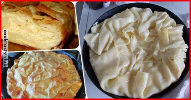 Очень вкусный сырный пирог