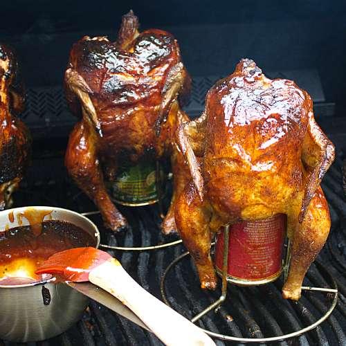Курица на банке с пивом в духовке: лучшие рецепты