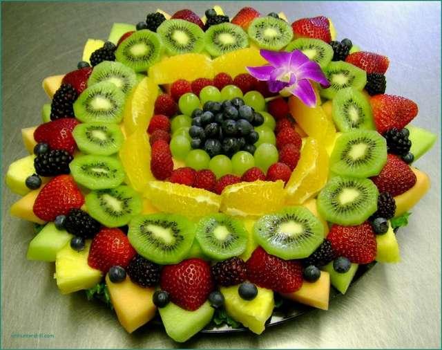 Как украшать фрукты: интересные идеи и рекомендации с фото