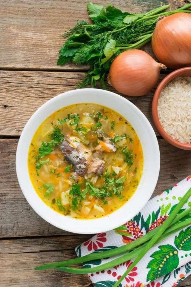 Как сварить суп из консервированной сайры: рецепт приготовления с фото. Просто и вкусно!