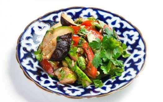 Рецепт вкуснейшего салата -Лаззат-