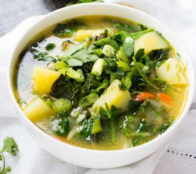 Диетический суп из куриной грудки: рецепт с фото