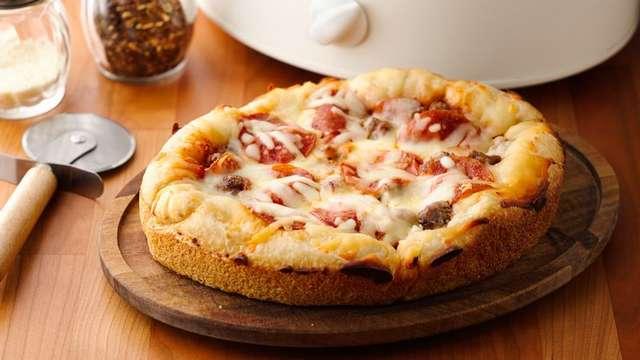 Вкусно и быстро пицца в мультиварке