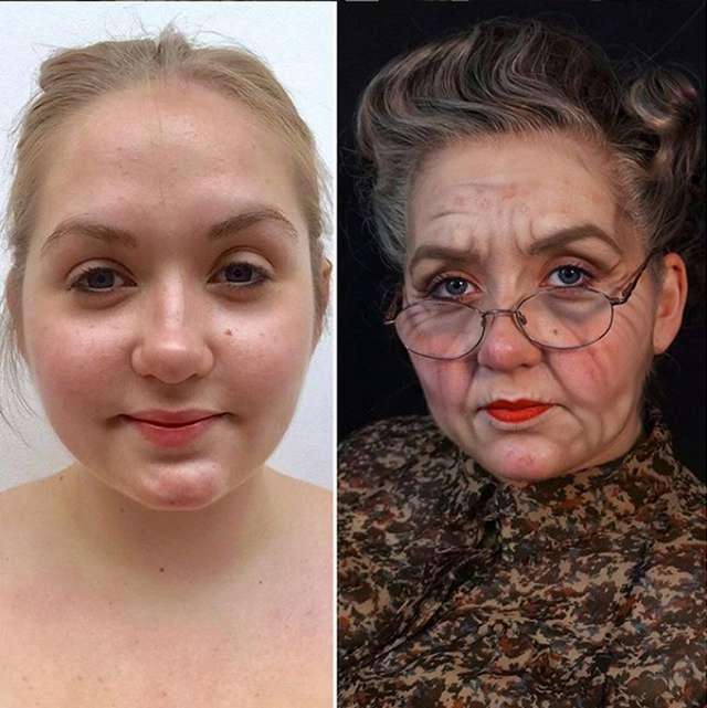 Визажист, который в помощью макияжа делает людей на 10 лет моложе и наоборот: фото «до» и «после»