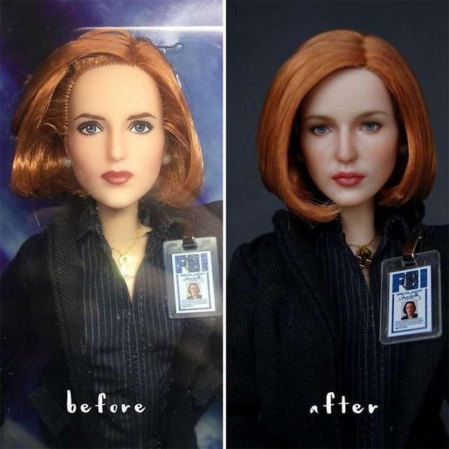 Женщина из Украины дарит обычным куклам вторую жизнь, превращая их в реалистичных персонажей