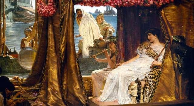 Установлены подробности страстной и трагической истории любви Клеопатры и Марка Антония