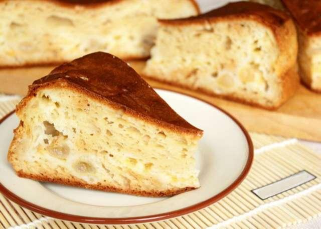 Пирог кефирный: рецепт пошаговый с фото