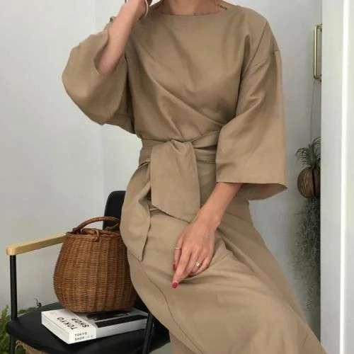 Стильные платья для женщин 40+