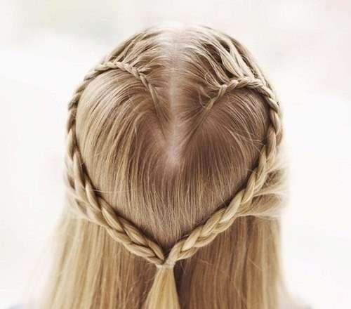 Как сделать причёску «Сердечко»