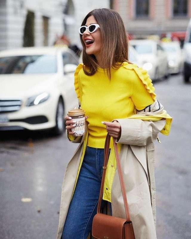 Как стильно сочетать джинсы и джемпер в 2019: 15 сногсшибательных образов для настоящих модниц