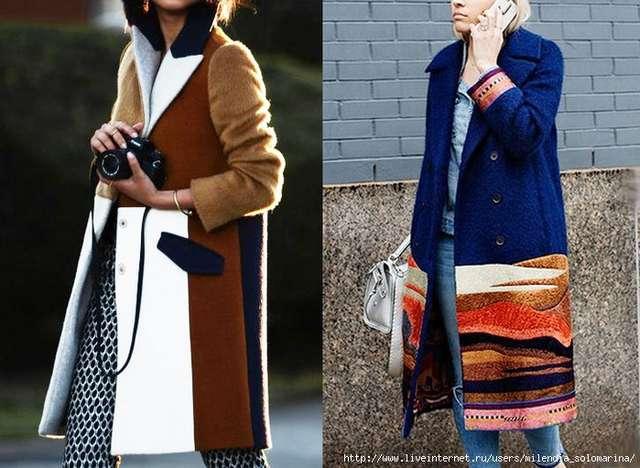 Как раскроить себе из двух-трёх старых, надоевших пальто одно новое: идеи переделок