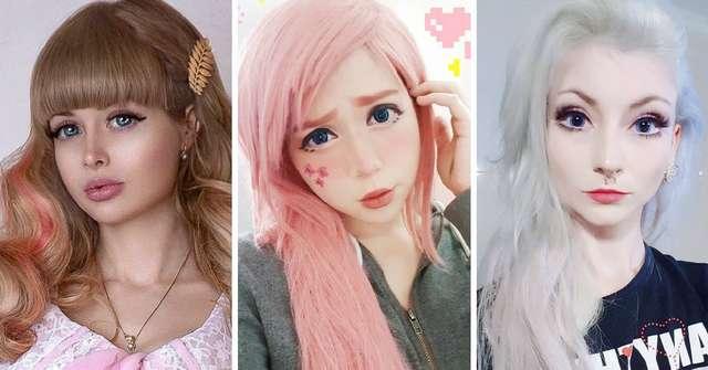 10 девушек, которые настолько похожи на кукол, что даже немного жутко
