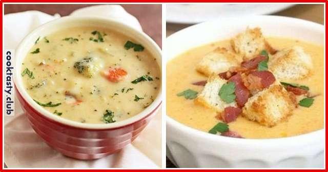 ТОП-4 сливочных супов
