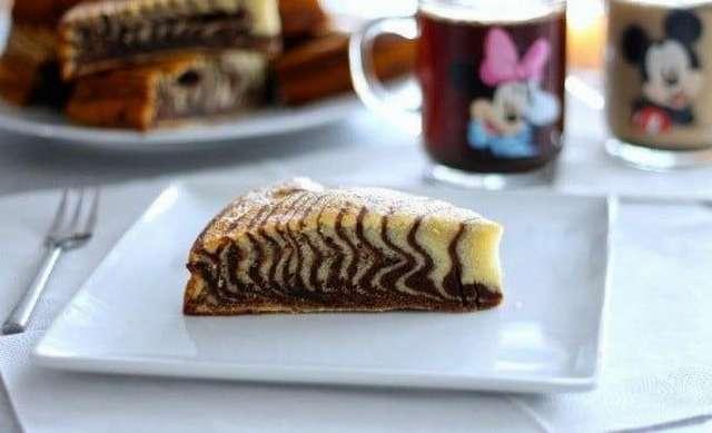 Пирог -Зебра- без сметаны: варианты приготовления, ингредиенты, рецепты