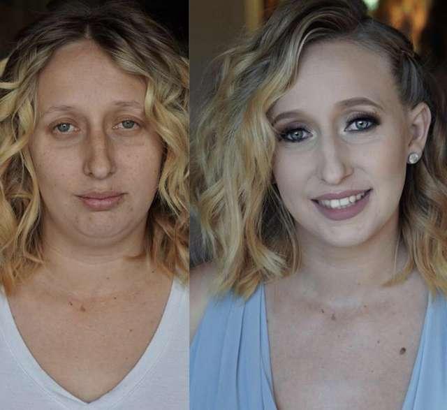 Перезагрузка: 10 фото «до» и «после», демонстрирующих волшебную силу макияжа