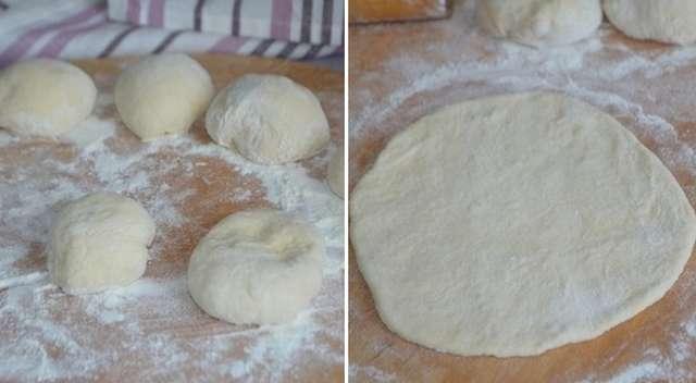 Как приготовить дрожжевые лепешки с рисом