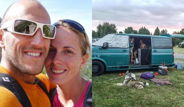 Чтобы построить дом своей мечты, пара живет в фургоне