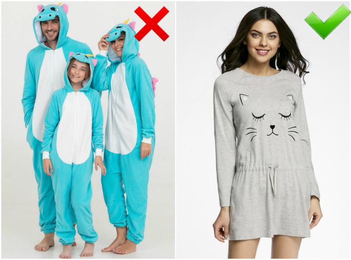 3dc219103629 7 ошибок при выборе домашней одежды, способных испортить семейную ...