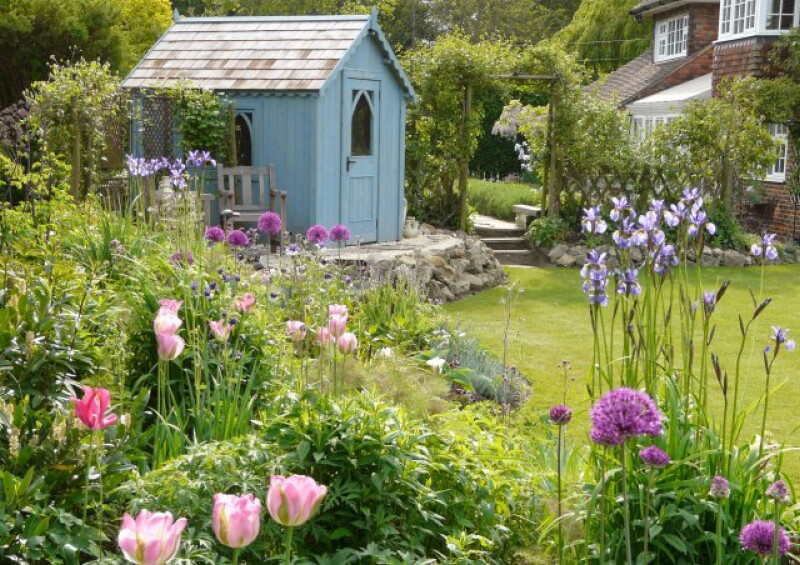 Шведская сказка в вашем саду: 11 советов по созданию сада в скандинавском стиле