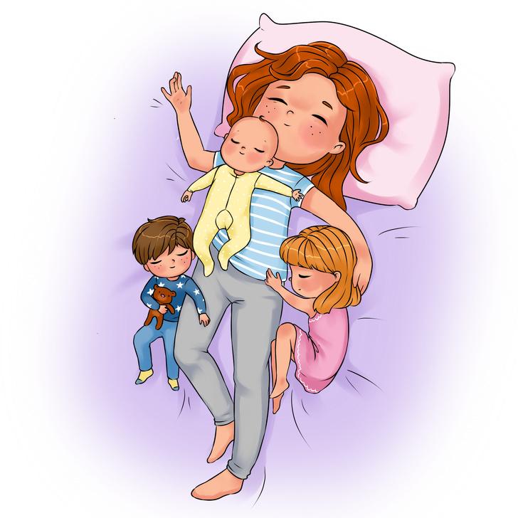 12 комиксов о том, каково быть родителем и через что придется пройти