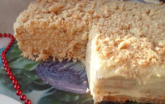 Торт из печенья с заварным кремом: рецепт, ингредиенты, особенности приготовления