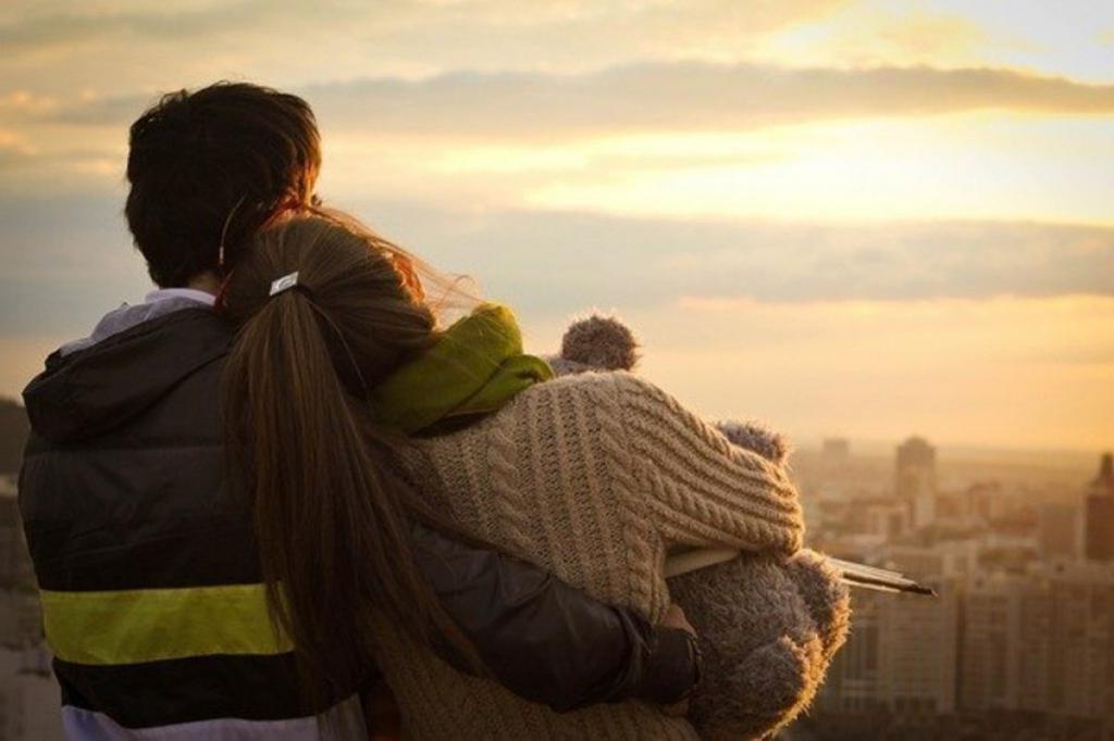 Картинка про любовь останься