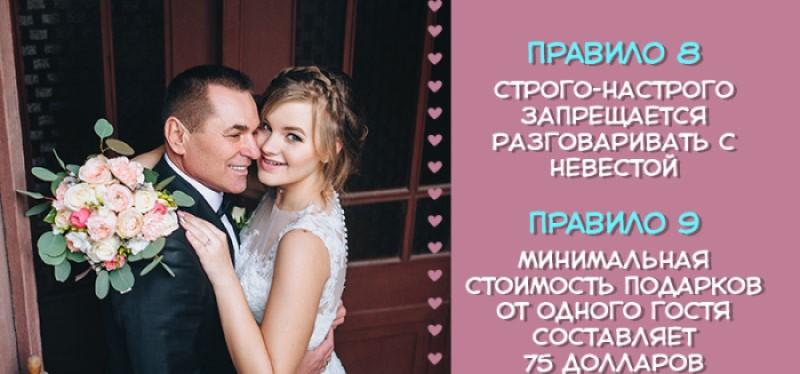 Невеста разослала гостям требования к будущей свадьбе, и этот список мгновенно разлетелся по Сети